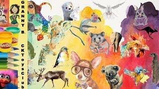 How many animals can you find?  By Granny B. CKToysClub