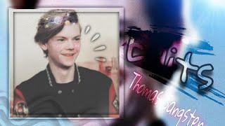 Thomas Sangster- Newt Edits Thomas Sangster and Gzi wisdom 🥺🌟🌈