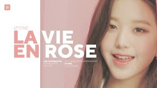 Download lagu IZ ONE La Vie en Rose Line Distribution 아이즈원 라비앙로즈