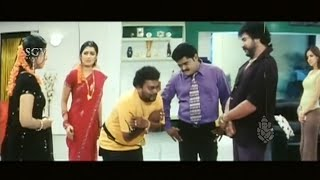 Sadhu Kokila saved Ravichandran & Jaggesh from wives and lovers | Kannada Comedy Scenes