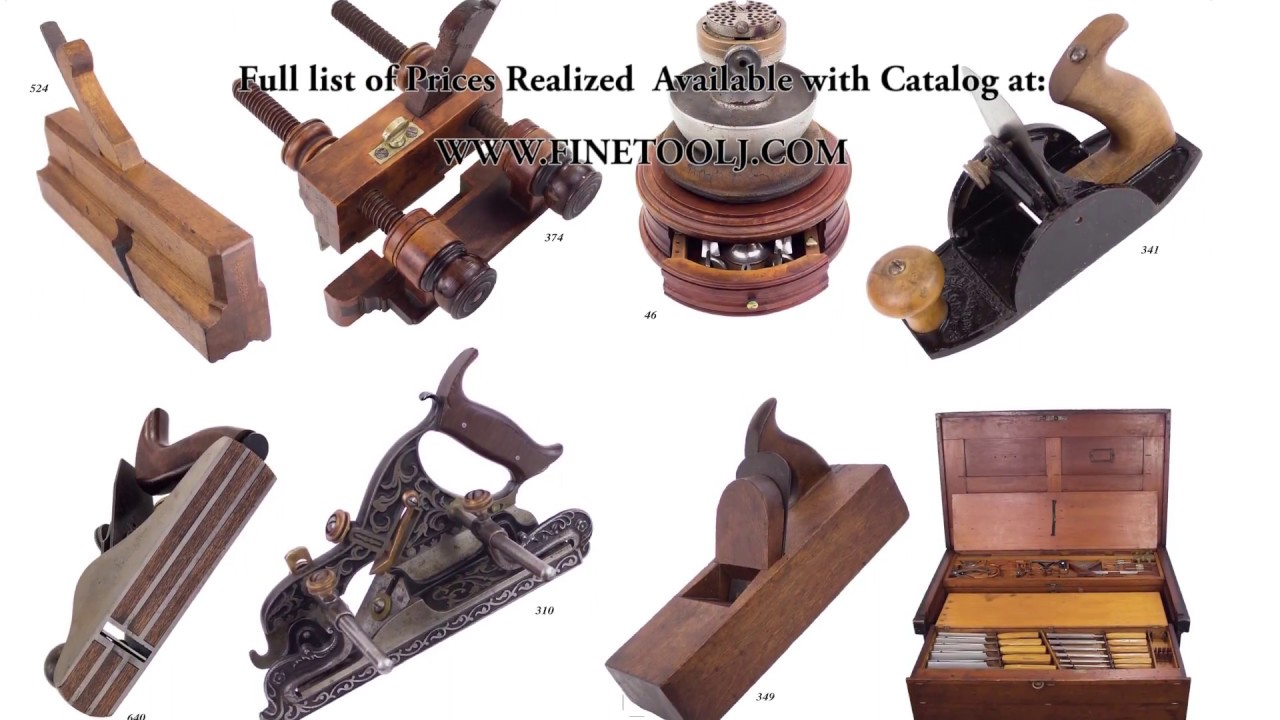 52nd Antique Tool Auction