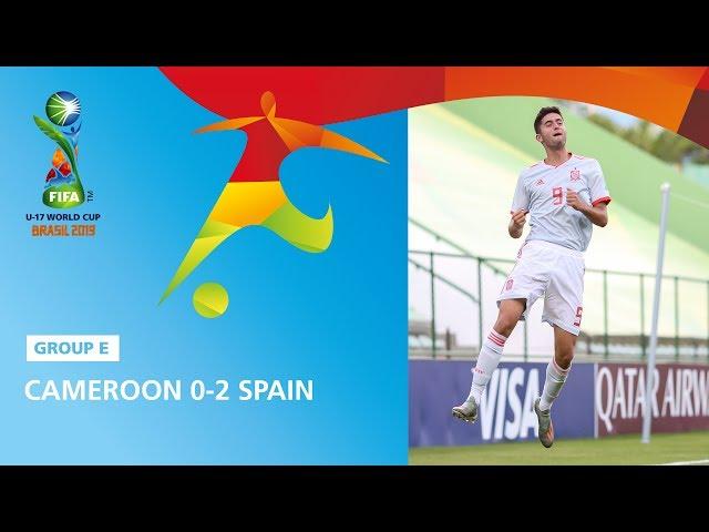Cameroon v Spain Highlights - FIFA U17 World Cup 2019 ™