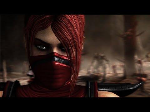 Mortal Kombat 9 Скарлет Приёмы добивания (Фаталити, Бабалити)