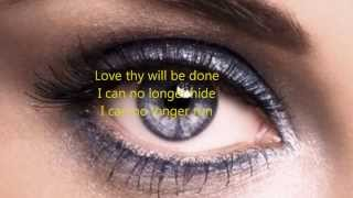 Martika -Love Thy Will Be Done with Lyrics