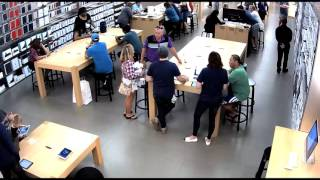 Suspects Steal Drone From Apple Store