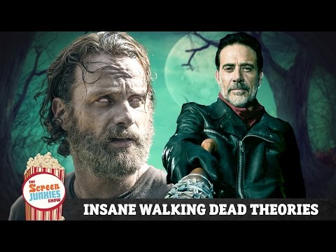 Insane Walking Dead Fan Theories Poster
