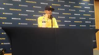 Jim Harbaugh postgame presser: Michigan vs SMU