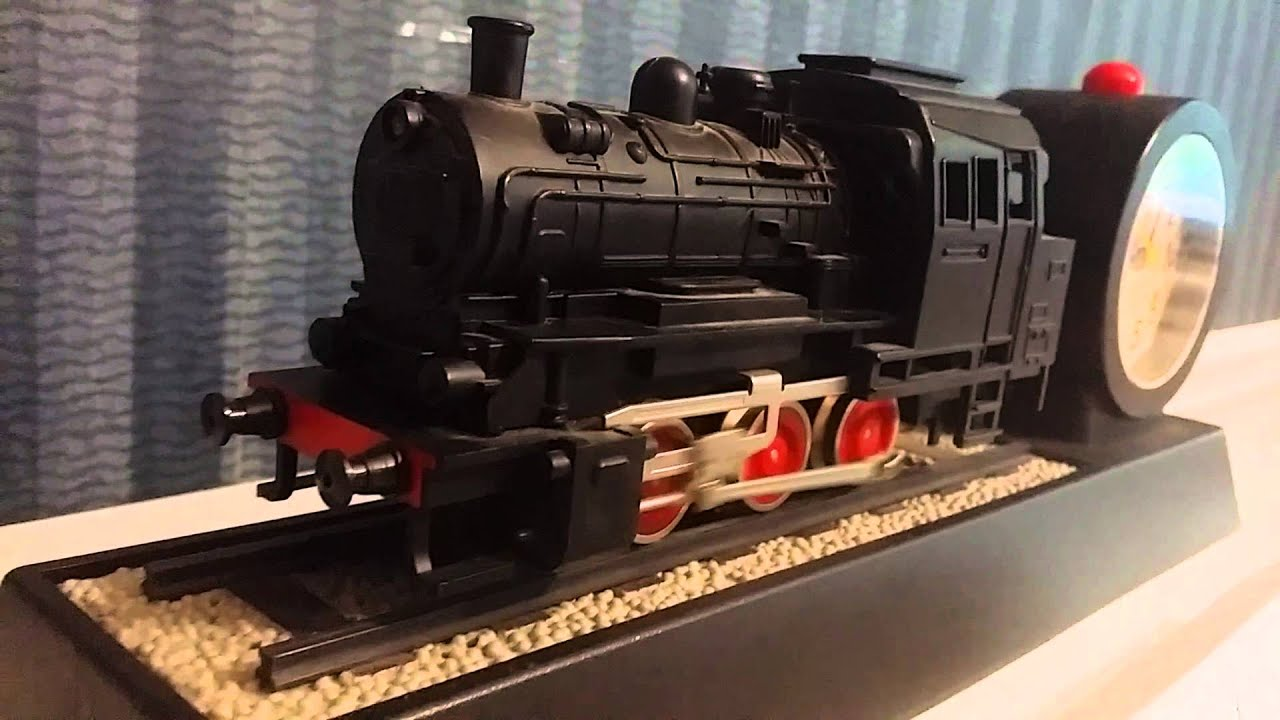 Unusual Clocks Train Alarm Clock Locomotive Engine Not Mars Youtube