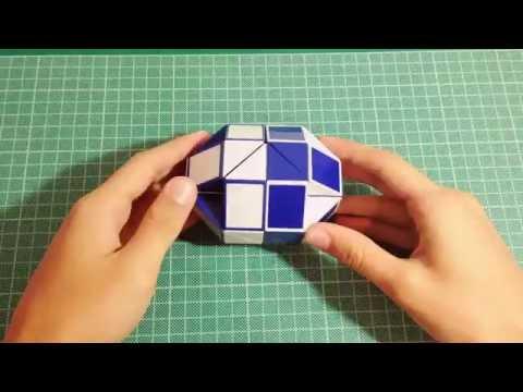 Круглая змейка рубика №1