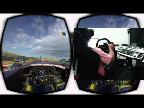 Oculus Rift iRacing broadcast