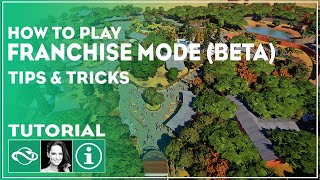 ▶ How To Play Franchise Mode   Planet Zoo Tutorial   Beta  