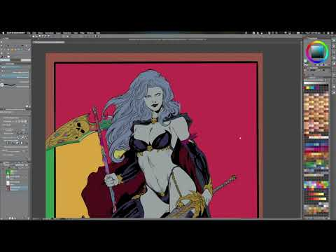 Lady Death Flats and Palette (Double Speed)