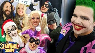 Joker, Batman, Harley Quinn 2 MILLION SUBSCRIBERS live from Comic Con! Fan Expo