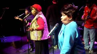 """The Emotions """"Best Of My Love"""" Soundcheck with The Digisoul Band @ Indigo O2"""