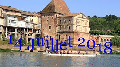 14 juillet 2018 Villemur sur Tarn  Fête du Tarn