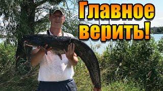 Ловля судака и сома Трудовая рыбалка Спиннинг в августе