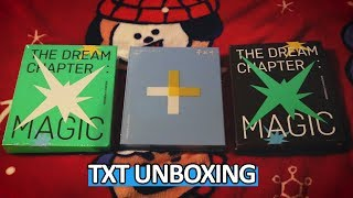 Baixar [UNBOXING] TXT (Tomorrow X Together) The Dream Chapter: MAGIC  (Arcadia & Sanctuary) & STAR
