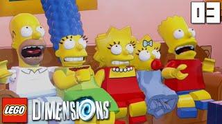 """LEGO SIMPSONS AWWW YISS!!!"" LEGO Dimensions Part 03 - 1080p HD PS4 Gameplay Walkthrough"