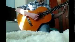 Yiruma River Flows in you - На гитаре