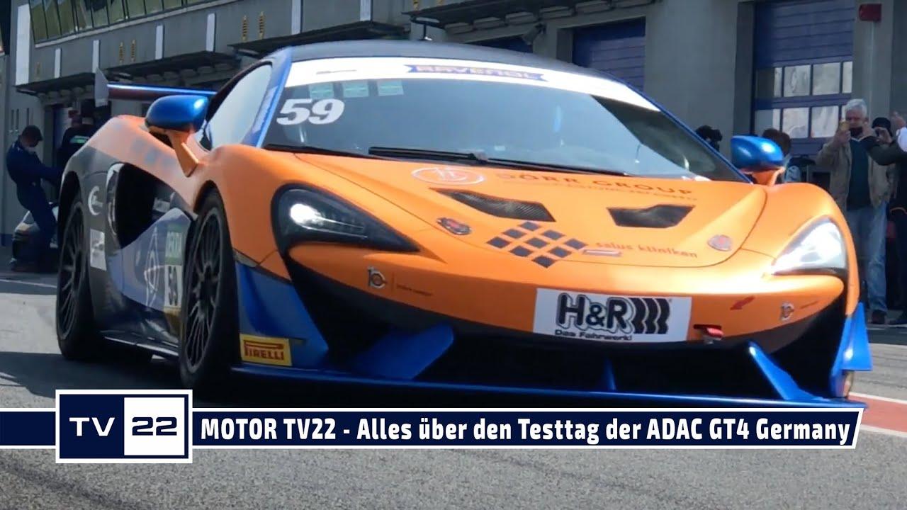 MOTOR TV22: Alle Bilder vom offiziellen Test das ADAC GT4 Germany in Oschersleben