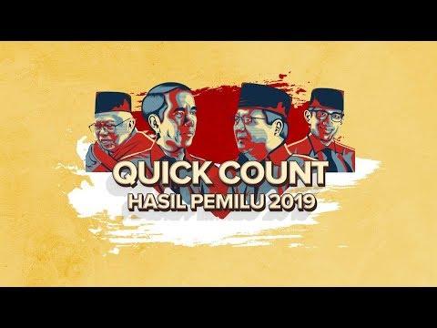 LIVE STREAMING!DATA TERBARU HITUNG CEPAT PEMILU 2019 - QUICK COUNT