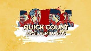 LIVE STREAMING!  DATA TERBARU HITUNG CEPAT PEMILU 2019 - QUICK COUNT