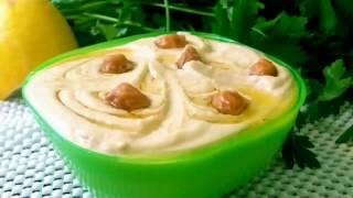 Chickpea paste Паста из нута   Вкусная и быстрая закуска