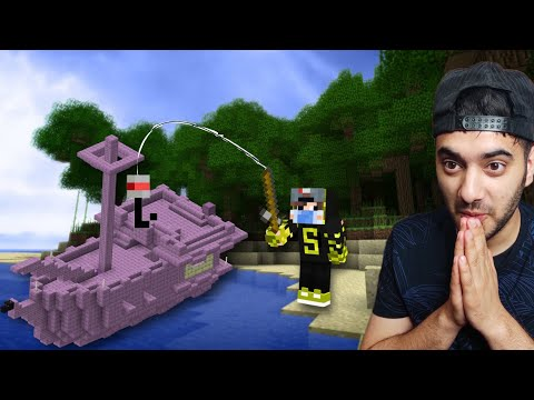Minecraft, But I Became an OP Fisherman