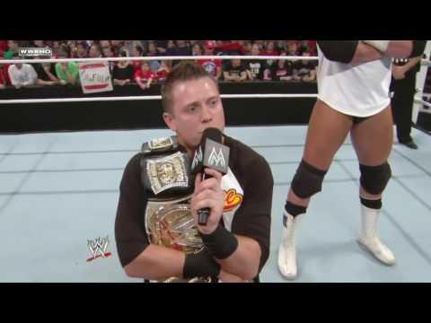 WWE Sin Cara & john cena vs The miz &alex rey