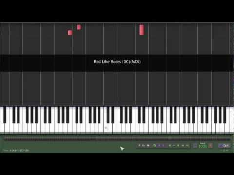 Red Like Roses - Theme from RoosterTeeth's RWBY Piano Cover/Tutorial
