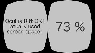 Oculus Rift реальна роздільна здатність