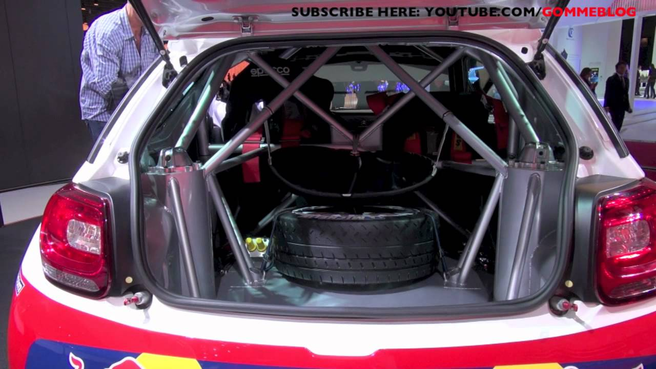inside sebastien loeb citroen ds3 wrc racing rally youtube. Black Bedroom Furniture Sets. Home Design Ideas