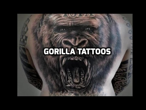 Gorilla Tattoos - Best Gorilla Tattoos In The World