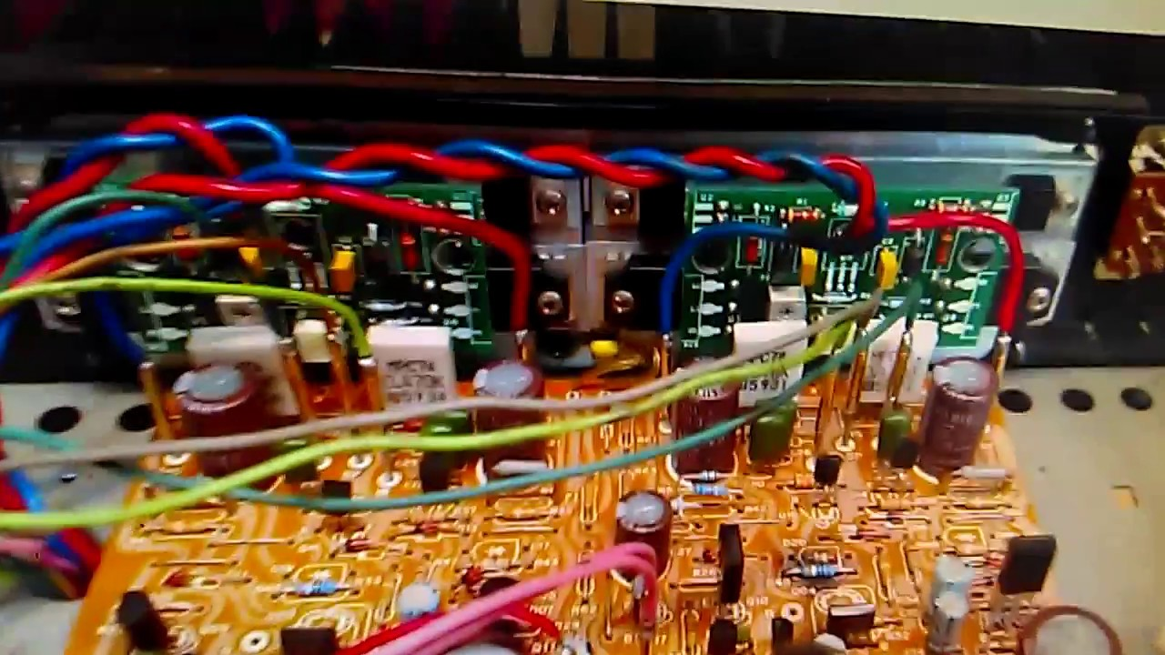Ibrido-IC stk080; power audio amp