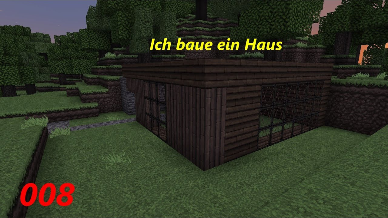 let 39 s play minecraft 008 ich baue ein haus youtube. Black Bedroom Furniture Sets. Home Design Ideas