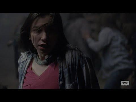 "The Walking Dead 9x15 Ending Scene ""The Deaths Of Henry & Enid"" Season 9 Episode 15 [HD] ""The Calm"""