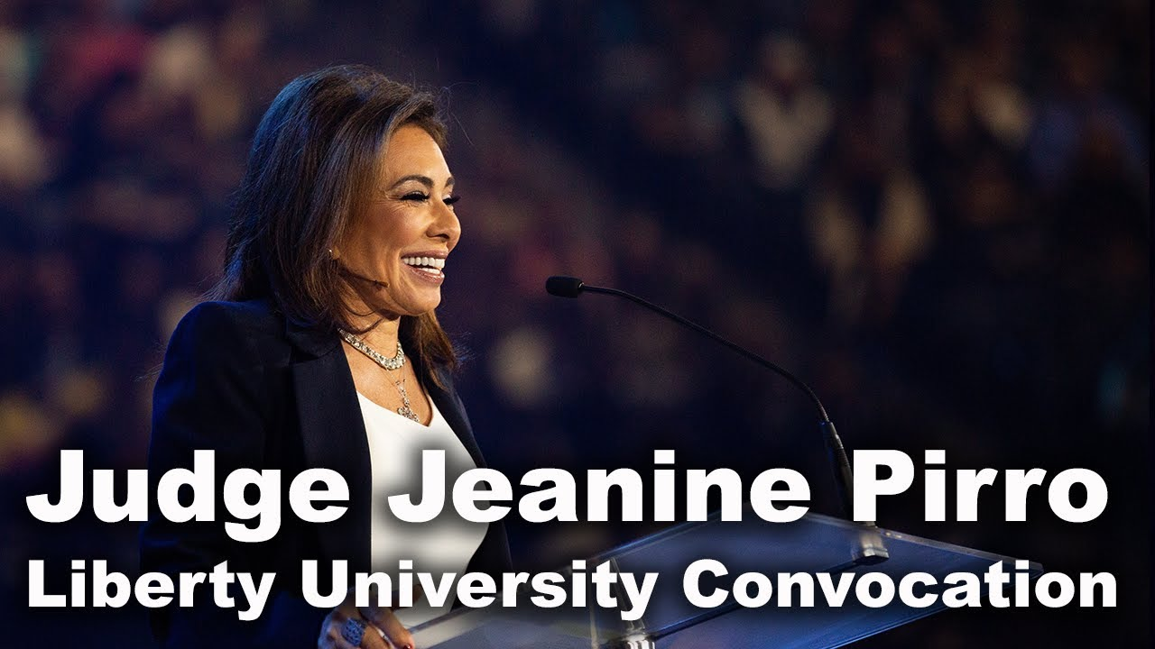 Judge Jeanine Pirro - Liberty University Convocation