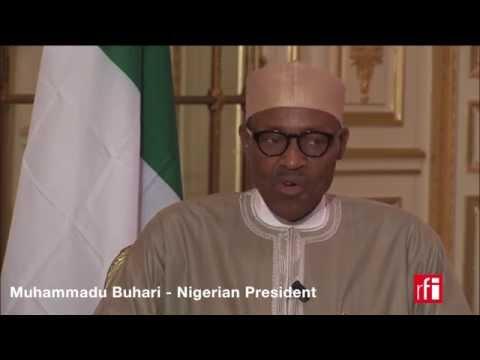 Nigerian President speaks to RFI Hausa