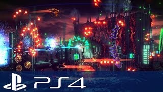 Resogun Gameplay Walkthrough - Impressions and Review!! (PS4 Gameplay 1080p HD)