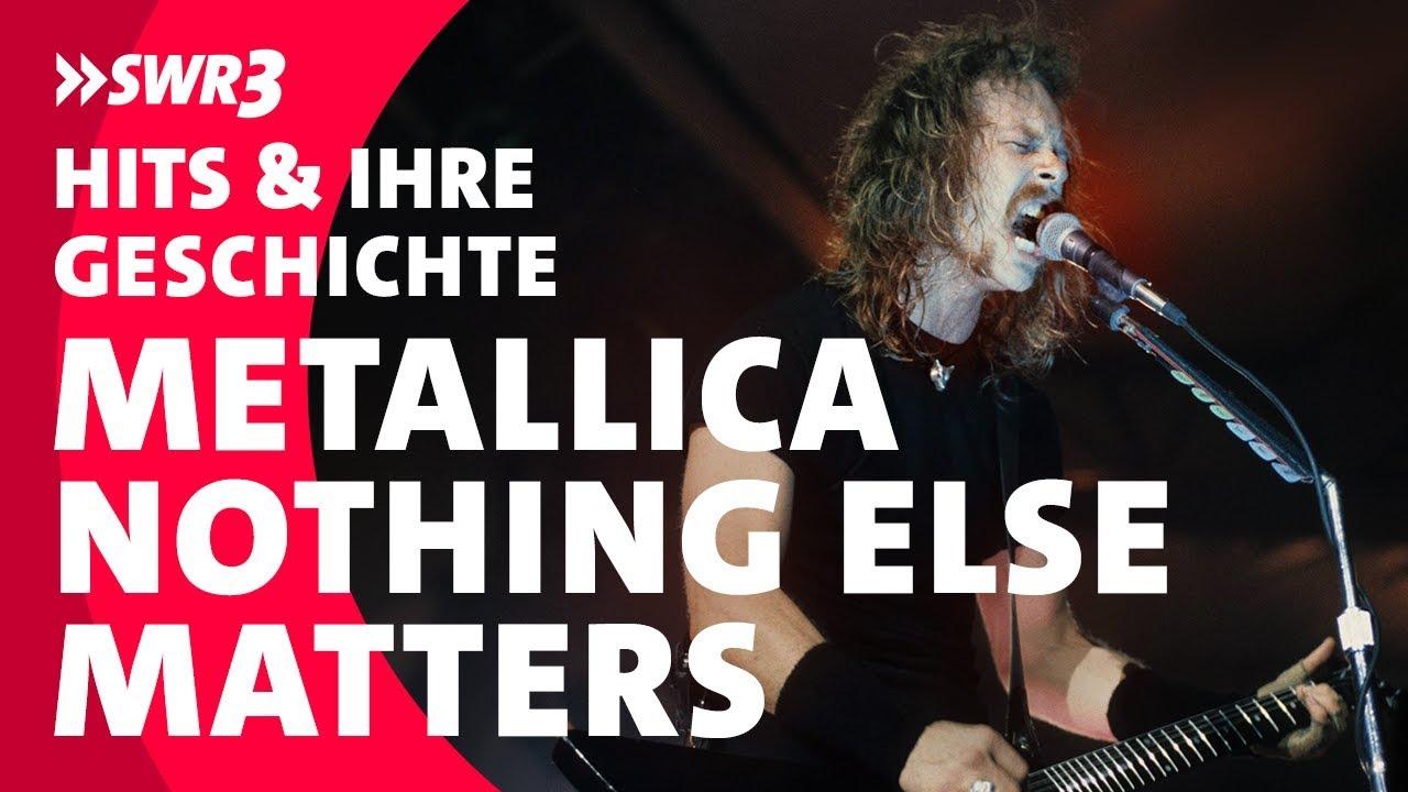 Die Größten Hits und ihre Geschichte: Metallica - Nothing Else Matters; Foto: SWR3