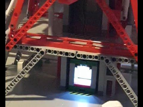Launch Umbilical Tower Aufzugmotorisierung