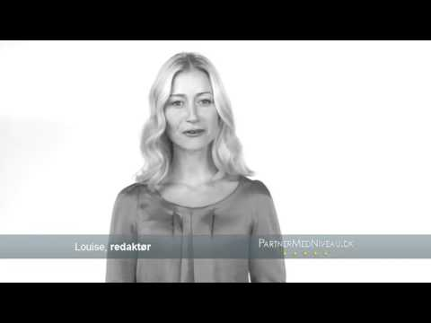 PartnerMedNiveau tv reklame   Louise