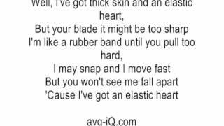 Elastic Heart by Sia ft Shia LaBeouf & Maddie Ziegler acoustic guitar instrumental cover karaoke Mp3