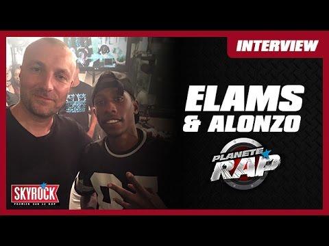 Elams dans le Planète Rap d'Alonzo
