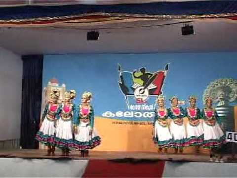 Aishwarya and Group performing Group Dance at Kottayam Kalolsavam 2011 Travel Video