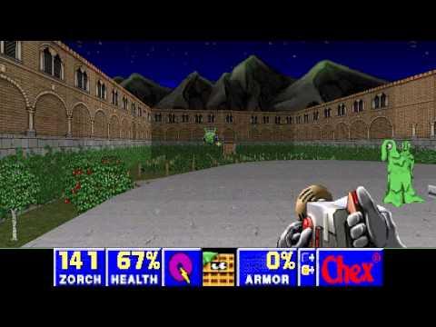 Chex Quest 3 - Super Slimey Difficulty - (E3M3) Villa Chex