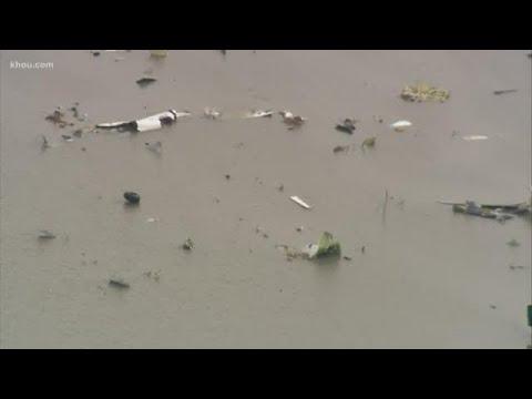 Plane crashes, disintegrates in Trinity Bay