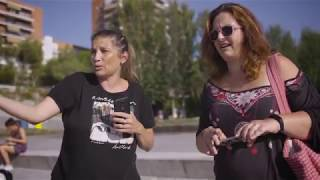 Un cachalote en Madrid