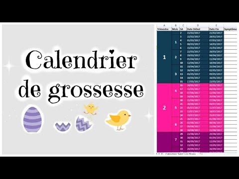 COMMENT CALCULER L'AGE DE SA GROSSESSE? + CALENDRIER GRATUIT