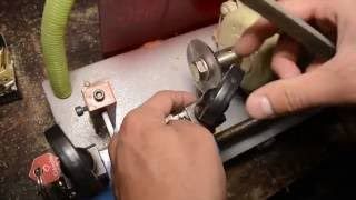 MAQUINA DUPLICADORA DE LLAVES   como hacer copia de llave